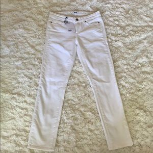 White Paige Denim Jeans